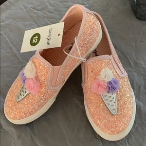 Cat and Jack Freesia Ice Cream Slip On Sneakers